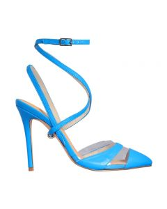 ATTILIO BLUE LEATHER