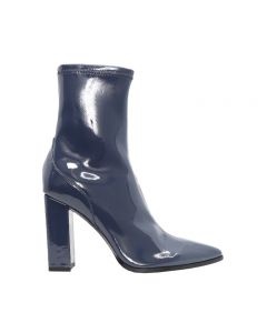 KAIDEN PETROL BLUE PATENT STRETCH LEATHER